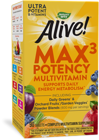 Nature S Way Alive Max Potency Multi Vitamin  Tabs