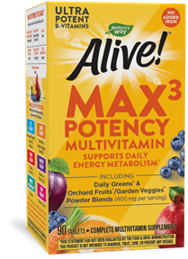 14931 - Alive Max Potency no iron added