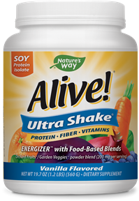 15389 - Alive Ultra-Shake Soy Protein