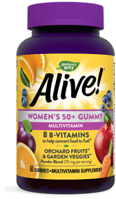15904 - Alive Womens 50 Gummy
