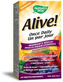 31556 - Alive Once Daily Womens Multi