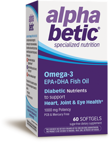 60022 - alpha betic® Omega-3 EPA+DHA Fish Oil