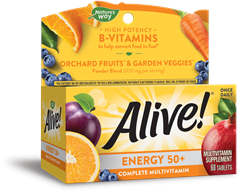 60193 - Alive Energy 50 Without Iron