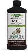 11772 - Organic MCT Oil - 100 Pure MCTs from Coconut