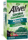 12112 - Alive Garden Goodness Mens Multi