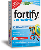 12343 - Fortify Kids Probiotics 10B Fruit Punch