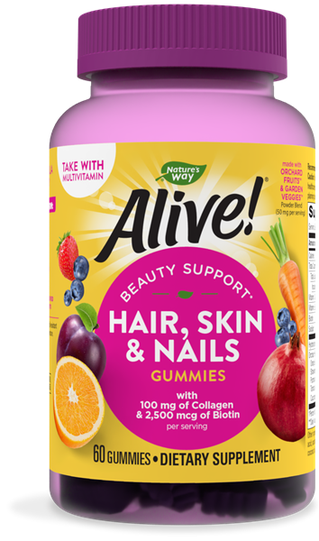 11534 - Alive Hair Skin Nails Gummies