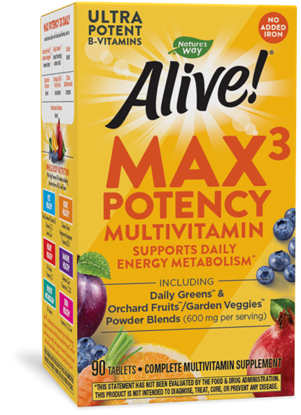 14931 - Alive Max3 Daily Multi No Iron