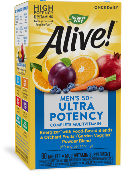 15691 - Alive Once Daily Mens 50 Ultra Potency