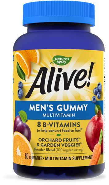 15900 - Alive Mens Gummy