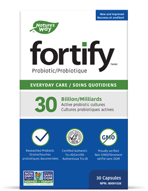 Fortify probiotics product box