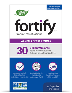 Fortify probiotics women's product box