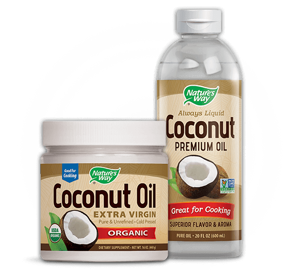 Nature's Way Coconut Oil products