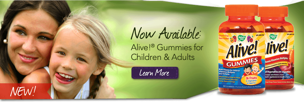 New - Alive Gummies from Nature's Way