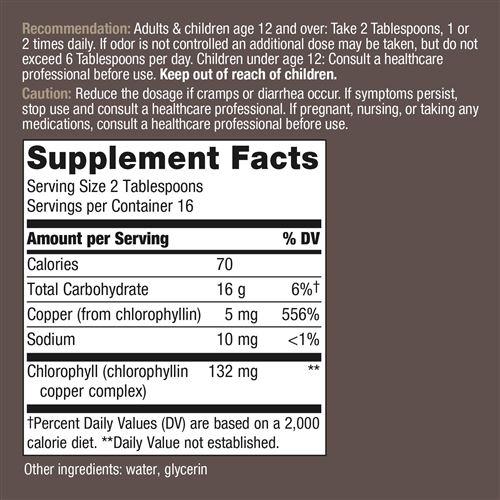 3502 - Chlorofresh Natural Flavor 16 oz Liquid