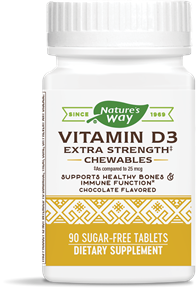 06919 - Vitamin D3 2,000 IU Chewables