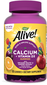 10255 - Alive Calcium Gummies 60 ct