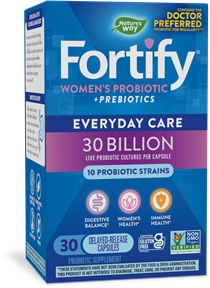 Fortify™ Women's 30 Billion Probiotic package