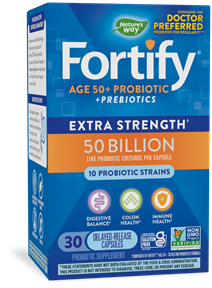 Fortify™ Age 50+ 50 Billion Probiotic 30-VIT package