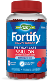 Fortify™ Gummy Probiotic 60 gummies package