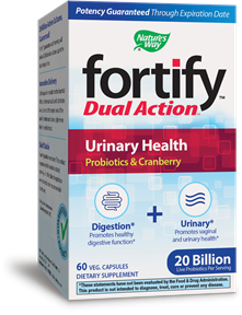 Fortify™ Dual Action™ Urinary Health 60 package