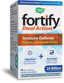 Fortify™ Dual Action Immune Defense 30 package