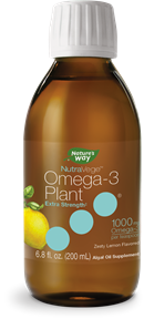 12324 - NutraVege Extra Strength Omega-3 Plant-Based Lemon