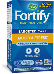 Fortify™ Targeted Care Mood & Stress 30 capsules package