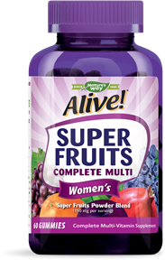 12508 - Alive Super Fruits Womens Multivitamin Gummy