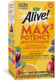 14929 - Max3 Daily Multivitamin No Iron Added