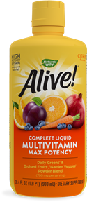 15395 - Alive Max Potency Liquid Multivitamin