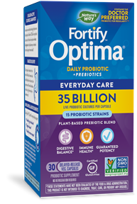 Fortify™ Optima® 35 Billion Probiotic + Prebiotic 30 package