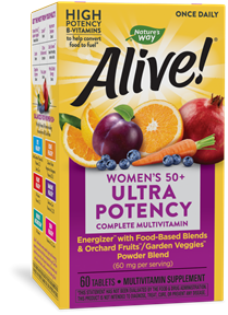 15692 - Alive Womens 50 Ultra Potency Multivitamin