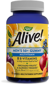 15902 - Alive Mens 50 Gummy