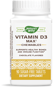 56505 - Vitamin D3 5,000 IU Chewables