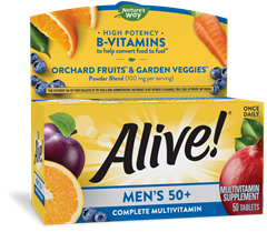 60244 - Alive Mens 50 Energy Multivitamin