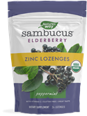 12088 - Sambucus Mint Flavored Zinc Lozenges