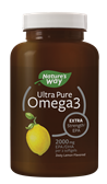 12479 - Ultra Pure Omega3 Extra StrengthEPA Lemon Softgels