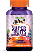 12510 - Alive Super Fruits Kids Multivitamin Gummy