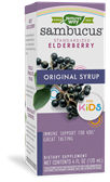12821 - Sambucus Original Syrup for Kids 4 oz