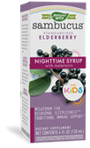 12822 - Sambucus Kids Nighttime Syrup 4 oz