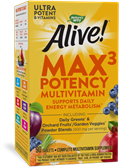 14927 - Alive Max3 Potency Multivitamin