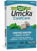 15145 - Umcka ColdCare Chewable Mint-Menthol