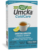 15146 - Umcka ColdCare Lemon Hot Drink 10 pktsbx