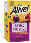 15692 - Alive Once Daily Womens 50 Ultra 60 Tabs