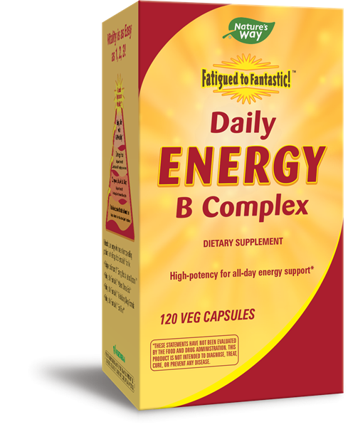 03242 - Fatigued to Fantastic Daily Energy B Complex 120 Veg Caps