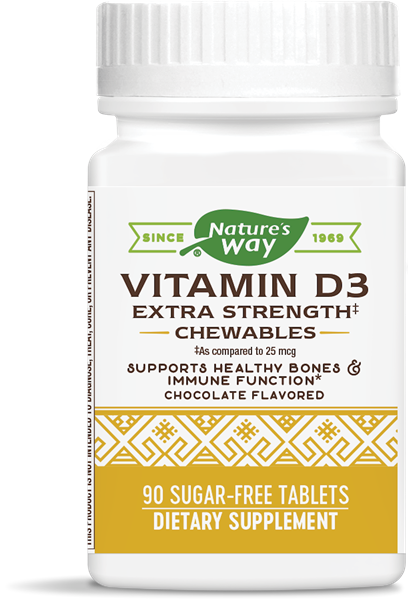 06919 - Vitamin D3 2000 IU Chewables