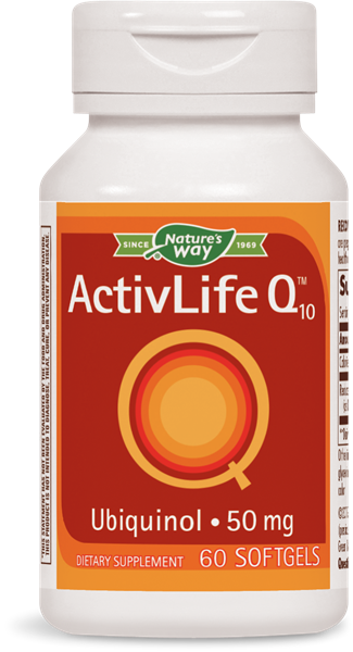 070026 - ActivLife Q10 Ubiquinol 50 mg