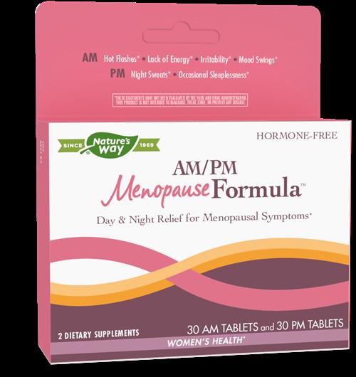 Am Pm Menopause Formula 60 Tabs Nature S Way