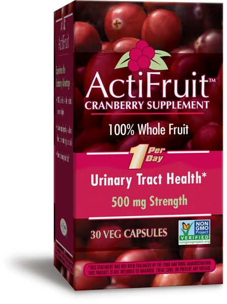 07833 - ActiFruit Cranberry Supplement